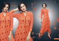Ladies rayon Fancy Kurtis