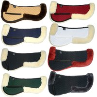 Horse Sheepskin Saddle Pad