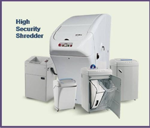High Security Shredder