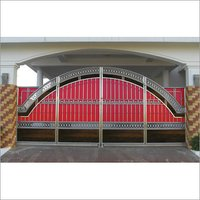 Folding Type Compound Gate