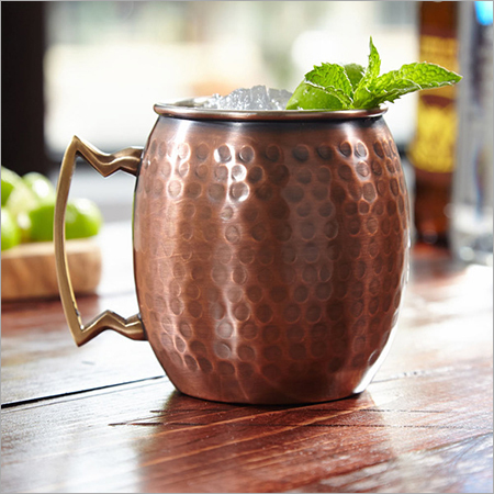 Antique Copper Mug