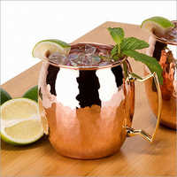 Copper Mug Barrel Shape