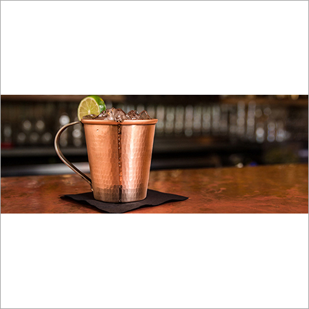 Copper Mug For Vodka And Moscow Mule