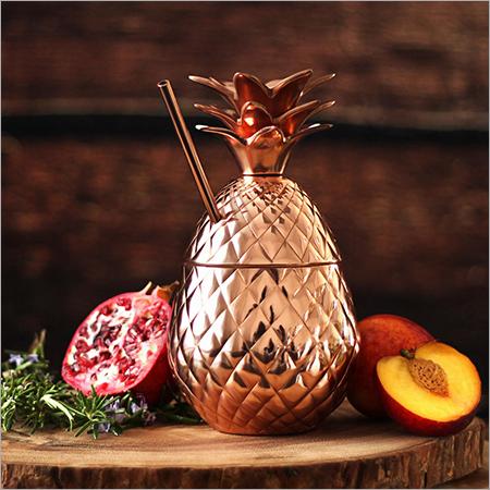 Copper Pineapple Tumbler