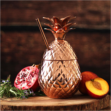 COPPER PINEAPPLE TUMBLER