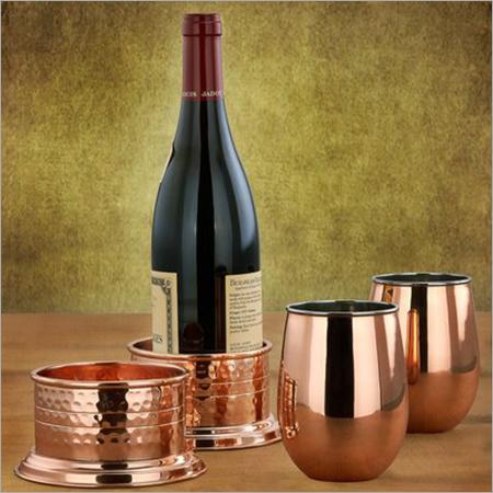Copper-Stemless-Wine-Glasses