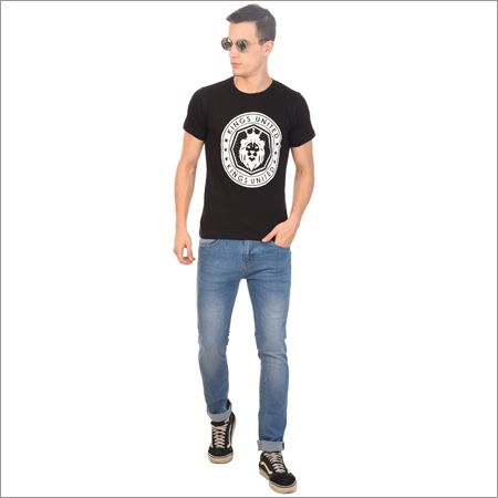 Mens Party Wear Printed T Shirt