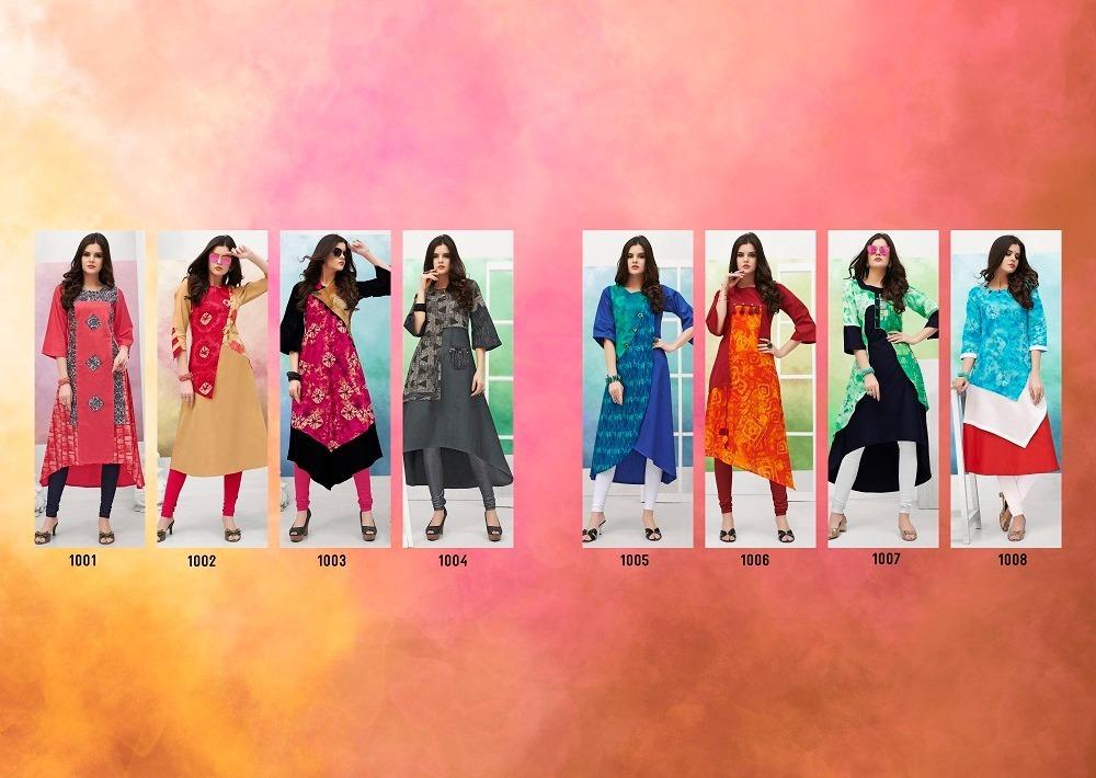 Online Designer Kurtis Collection