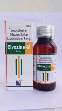 LEVOCETRIZINE  DIHYDROCHLORIDE   WITH  MONTELUKAST SYP