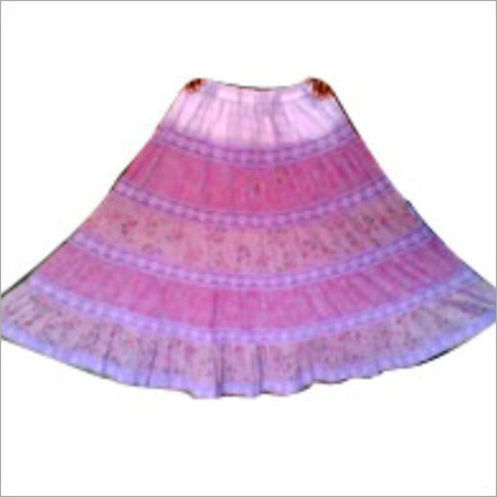 Ladies Pink Skirt