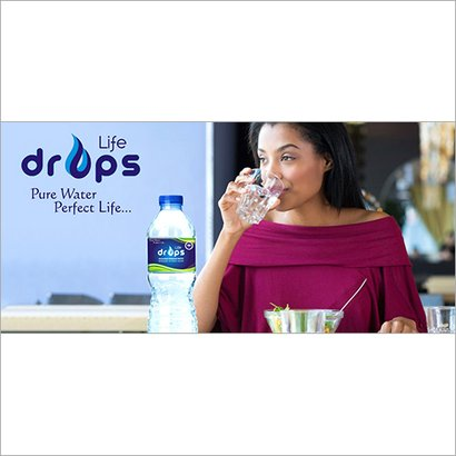 500Ml Life Drops Mineral Water Packaging: Plastic Bottle