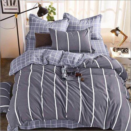 Checks Printed Bed Sheets