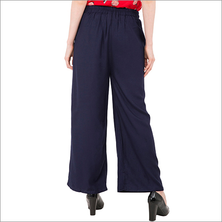 Ladies Parallel Plain Palazzo