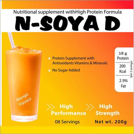 Mango Flavour Nutritional Supplements