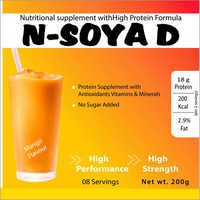Mango Flavour Nutritional Supplements