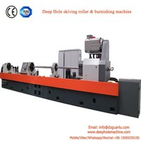 Deep hole roller scraping machine