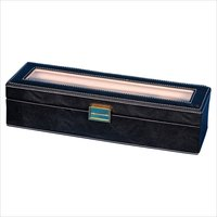 Hard Craft Black Watch Box for 5 Watches