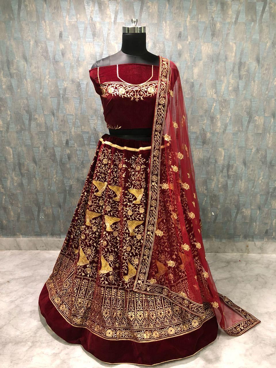 Miss Brand Designer Lengha Choli