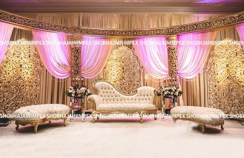Mandir Jali Wedding Fiber Panel