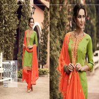 ELEGANT WORK DESIGNER PATIYALA SUIT