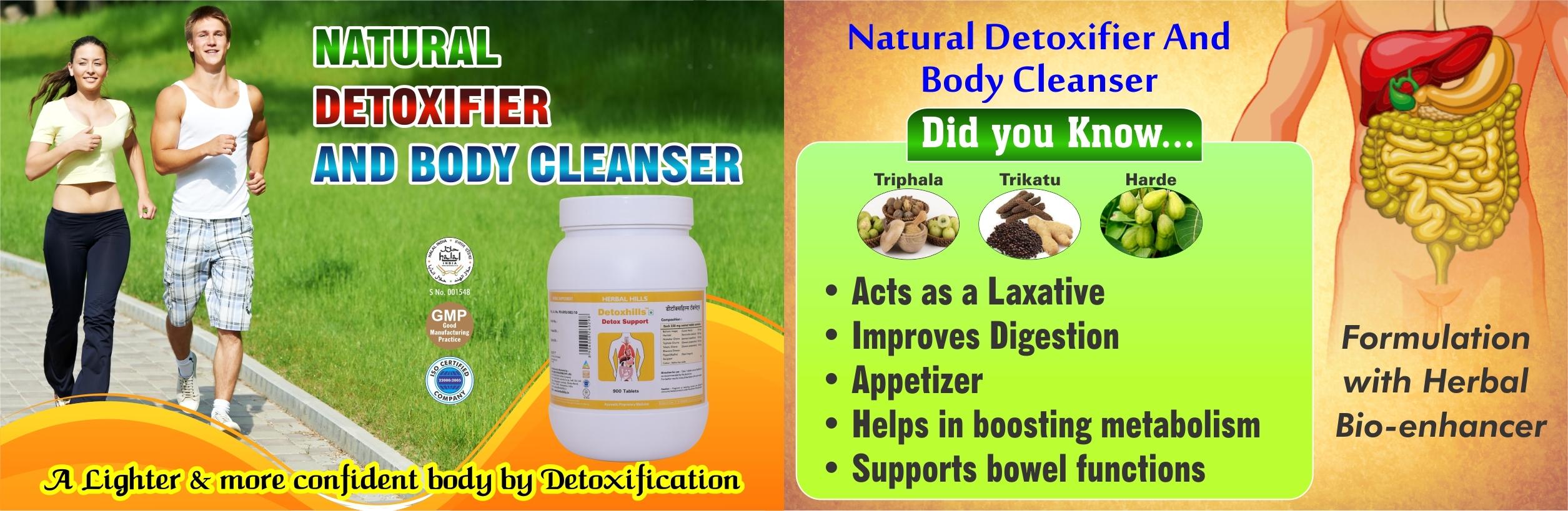 Ayurvedic medicine for  detoxification of body - Detoxhills 900 Tablet