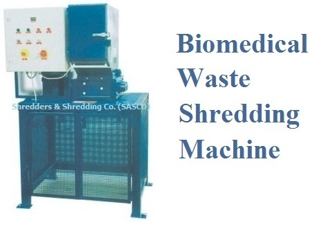 Biomedical Waste Shredding | Shredder Machine