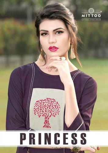 Mittoo Princess Vol 1 Kurti Wholesale Catalog