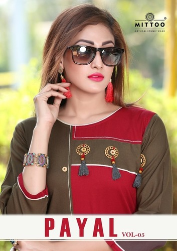 Mittoo Payal Vol-5 Rayon Kurtis