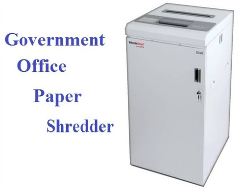 Government Office Paper Shredder