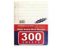 300 Sheets Wide Ruled Filler Paper