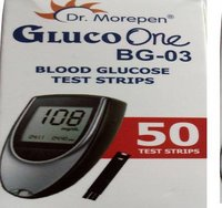 Dr. Morepen 50 NO ( GLUCO ONE)  Glucometer Strips