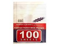 100 Sheets College Ruled Filler Paper
