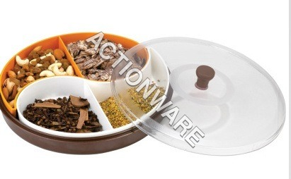 Masala Spices Tray (2-Bowl)