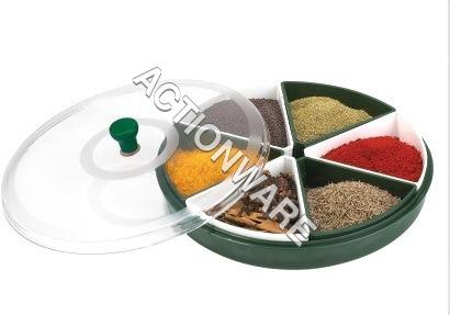Masala Spices Tray (6-Bowl)