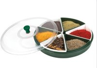 Masala Spices Tray (6-Bowl)