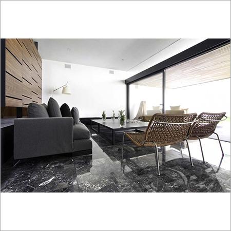 Beautiful Dark Granite Floor