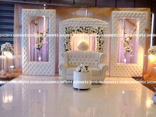 Quilting Modern Wedding Fiber Panel Backdrops
