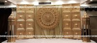 Mughal Door Wedding Fiber Backdrop
