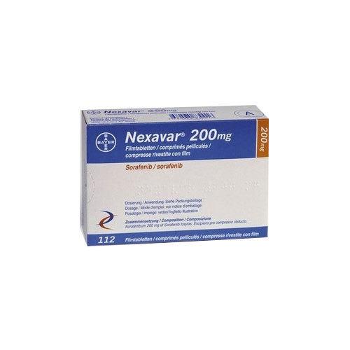 Nexavar Sorafenib 200mg Tablets