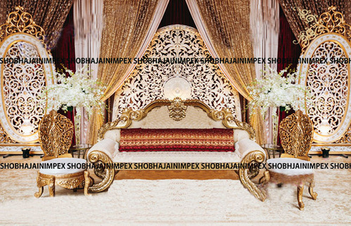 Asian Wedding Fiber Panel Backdrops