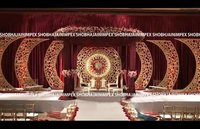 Wedding Fiber Panel Back Drops