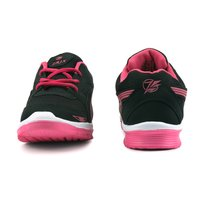 Ladise Navy Blue & Pink Sports Shoes