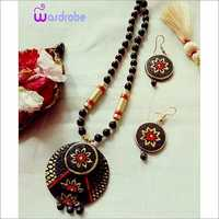 Designer Terracotta Necklace