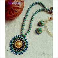 Handicraft Terracotta Designer Necklace Set