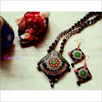 Colorful Terracotta Necklace Set