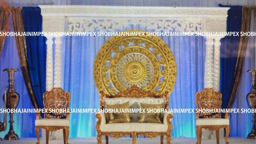 Medallion Wedding Fiber Backdrop