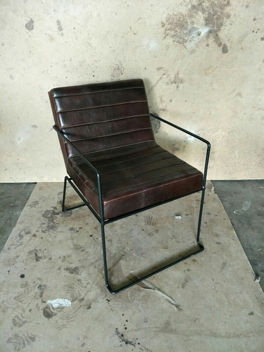 Restaurant Chair with Leather upholstery