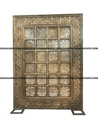 Brown Jali Wedding Fiber Panel Backdrops