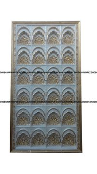Latest Candle Wedding Fiber Panel Back Drops