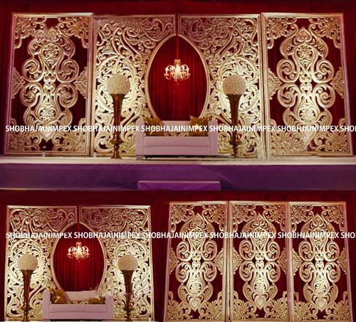 Designer Wedding Fiber Panel Backdrops